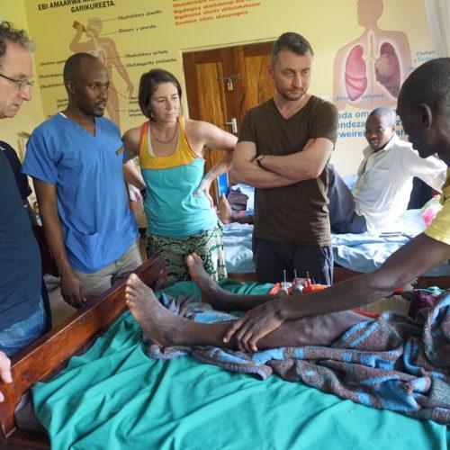 Visite post-opératoire par Dr Kohut et Dr Boscacci