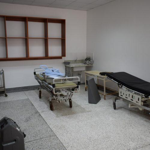Salle de  préparation encore en préparation