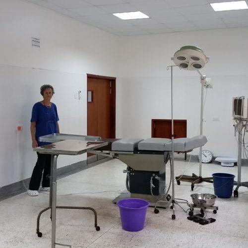 Nouvelle salle d'opération II à BCH