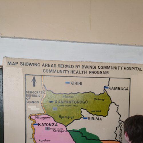 Régions desservies par l'hôpital
